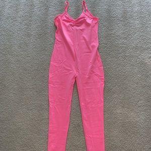 American Apparel pink bodysuit